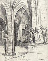 Emile Bernard 1928 Etude pour l'église de Locronan.jpg