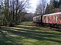 Empty carriages at the picnic site - geograph.org.uk - 683488.jpg
