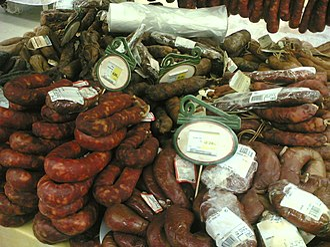 Chorizo - A variety of Portuguese chouriços