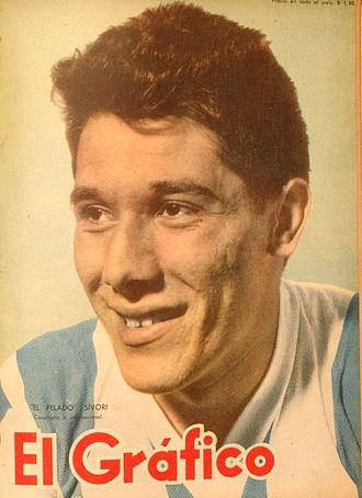 Omar Sívori - Sívori with the Argentina national team in 1956