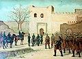 Entrada en Tetuán de las primeras tropas españolas (Segunda parte de la Guerra Civil. Anales desde 1843 hasta el fallecimiento de don Alfonso XII).jpg