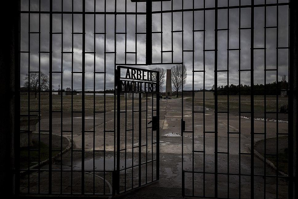 Entrance of Sachsenhausen concentration camp