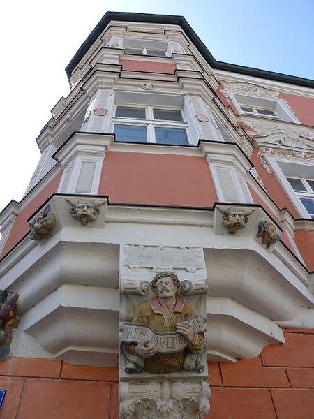 file erker am haus ludwigsplatz 20 flurlgasse 2 straubing jpg wikimedia commons. Black Bedroom Furniture Sets. Home Design Ideas