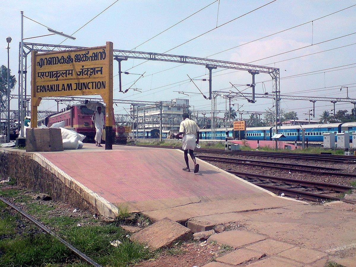 Ernakulam Junction Railway Station Wikipedia