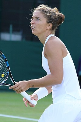 Winnares in het enkelspel, Sara Errani