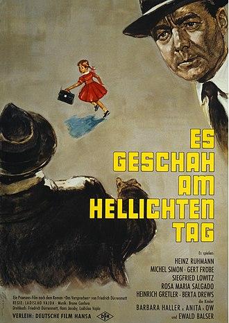 Helmuth Ellgaard - Image: Es geschah am hellichten Tag 1959