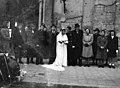 Esküvői csoportkép, 1946 Budapest. Fortepan 105362.jpg