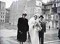 Esküvői fotó, 1948. Fortepan 105185.jpg