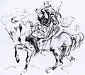 Eugène Delacroix - Sketch for Attila - WGA06250.jpg