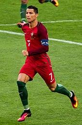 Ronaldo in azione contro la Polonia a Euro 2016