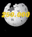 Euskarazko Wikipedia 250.000.png