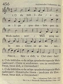 Weihnachtslieder Kirche.O Du Fröhliche Wikipedia