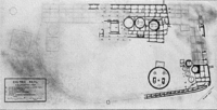 A drawing of the ground plan of Chetro Ketl