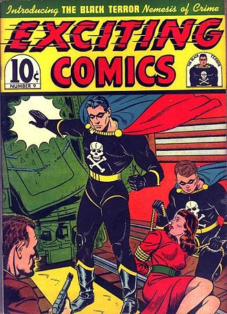 Black Terror - Image: Exciting Comics 9