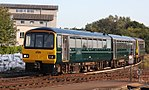 Exeter St Davids - GWR 143621+143612 arriving from Exmouth.JPG