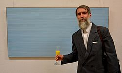 Exhibition of Norwegian artist Lars Strandh in Minsk Museum Modern Art 18.02.2015 17.JPG