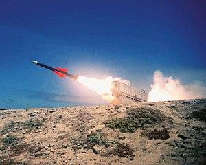 Exocet - Exocet missile launch