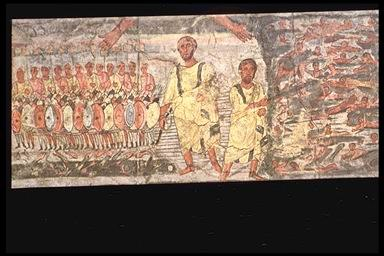 Exodus and Crossing of Red Sea