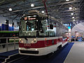 Expocitytrans 2010, Moscostrans pavilion, new Moscow tram (5020403989).jpg