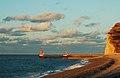 Fécamp plage sous la lumière de décembre 1.jpg