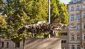 Fürth Willy-Brandt-Anlage Kunstwerk von Hermann Wagner 2011 09 10.jpg