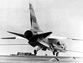 F-8E of VF-191 landing on USS Ticonderoga (CVA-14) c1967.jpg