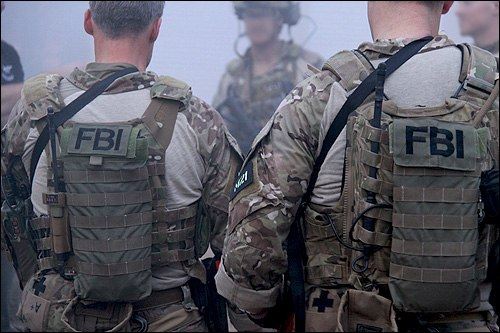 FBI Hostage Rescue Team Agents