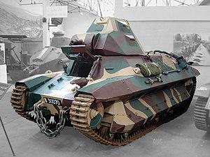 FCM 36 - The last surviving FCM 36 in the Musée des Blindés in Saumur
