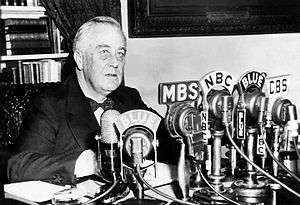 Second Bill of Rights - Image: FDR January 11 1944