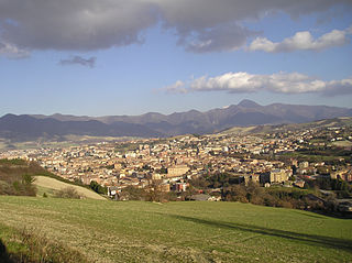 Fabriano Comune in Marche, Italy