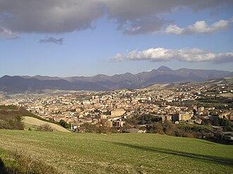 Fabriano - Image: Fabriano Civita 02