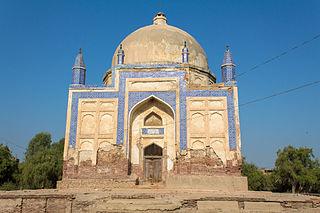 Larkana City in Sindh, Pakistan