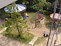 Fairground dobbies & swingboats from big wheel, Hollycombe, Liphook 3.8.2004 P8030077 (10354107514).jpg