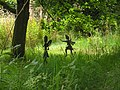 Fairies in the Garden next to the Gnomes.....August 2011 - panoramio.jpg