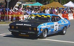 Kevin Bartlett (racing driver) - John Goss's reproduction of the 1974 Bathurst 1000 winning Falcon