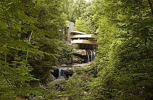 Fallingwater - Fallingwater, as seen from Bear Run