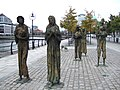 Famine memorial by the Liffey - geograph.org.uk - 338074.jpg