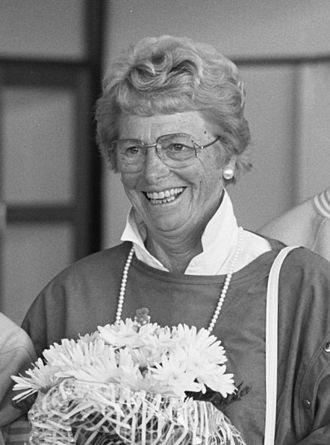 Fanny Blankers-Koen - Fanny Blankers-Koen in 1988