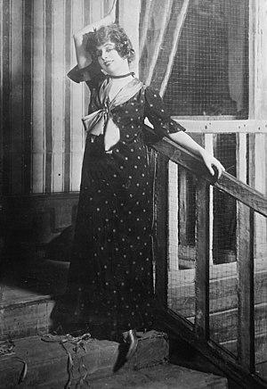 Geraldine Farrar - Farrar in Julien in 1914