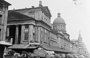 Bonsecours Market - Market in 1940