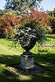 Feeringbury Manor lawn urn planter, Feering Essex England 1.jpg