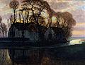 Ferme près de Duivendrecht (1916) Dallas Museum of Art, huile sur toile 80 x 106 cm.jpg