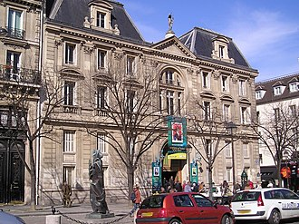 Société d'encouragement pour l'industrie nationale - Hôtel de l'Industrie in Paris, place Saint-Germain-des-Prés, seat of the society