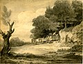 Figures with cart at roadside drawing by Thomas Gainsborough.jpg