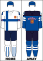 Finland national hockey team jerseys - 2014 Winter Olympics.png