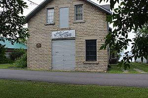National Register of Historic Places listings in Koochiching County, Minnesota - Image: Finstad's Auto Marine Shop