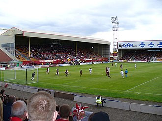 Fir Park - The Phil O'Donnell Stand is the main stand of Fir Park.