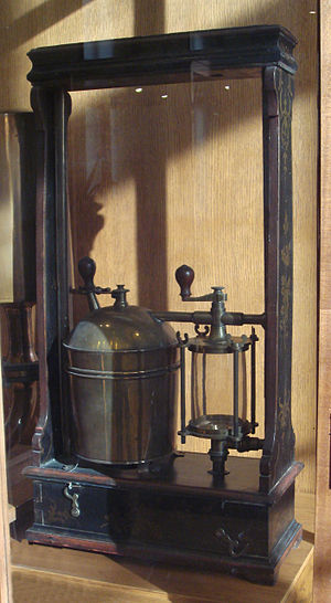 Thomas Savery - Fire pump, Savery system, 1698.
