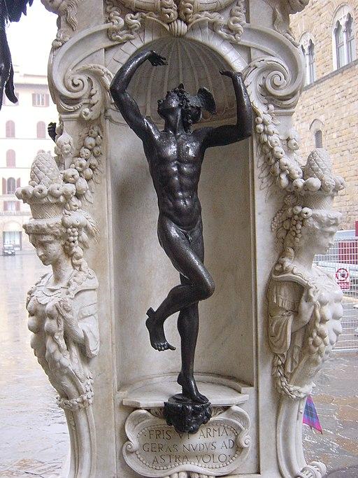Firenze - Perseo del Cellini - Foto Giovanni Dall'Orto 30-Nov-2002 - 06
