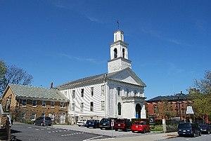 First Baptist Church (New Bedford, Massachusetts) - Image: First Baptist New Bedford